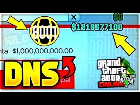 ¡¡*VUELVEN*LAS DNS DE DINERO INFINITO EN GTA 5 ONLINE 1.28/1.48 FUNCIONANDO GTA 5 ONLINE!!