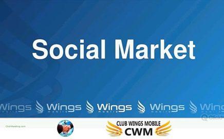 Wings Mobile, Negocio para Ganar OnLine. Es Social Market de Afiliados. No es Multinivel