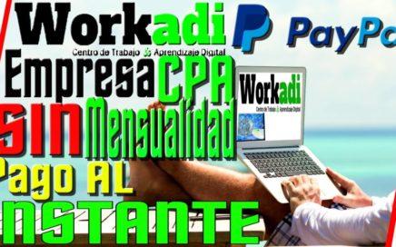 WorkAdi Trabajo Desde Casa SIN Invertir || Como Ganar Dinero Por Internet || Quiero Dinero