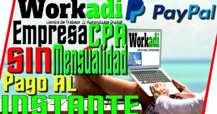 WorkAdi Trabajo Desde Casa SIN Invertir    Como Ganar Dinero Por Internet    Quiero Dinero