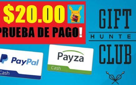 $20,00 DÓLARES PAGO - GIFTHUNTER CLUB ACTUALIZADO / 1 DE MARZO 2018