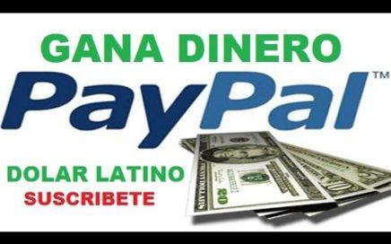 3. Como crear cuenta Paypal para ganar miles de Dolares gratis