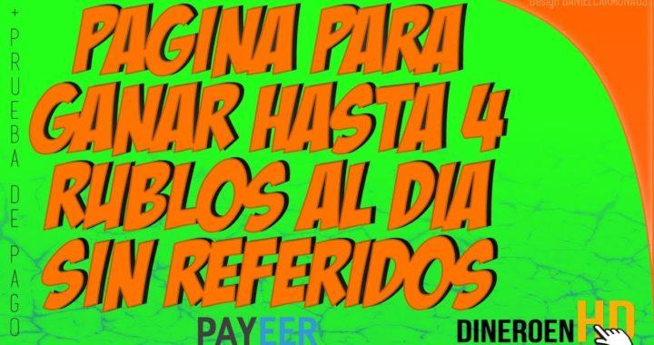 AD-CORE: GANA HASTA 4 RUBLOS AL DIA SIN TENER REFERIDOS + PRUEBA DE PAGO