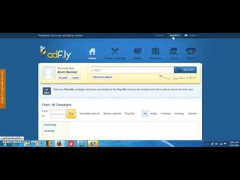 Adfly como usar adfly para ganar dinero rapido 2016   2017  2018