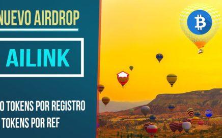 Ailink Airdrop explicacion gana  dinero
