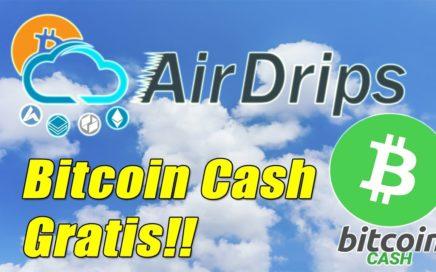 AirDrips Gana Bitcoin Cash Grats | AirDrips Prueba de Pago Marzo 2018 | Gokustian