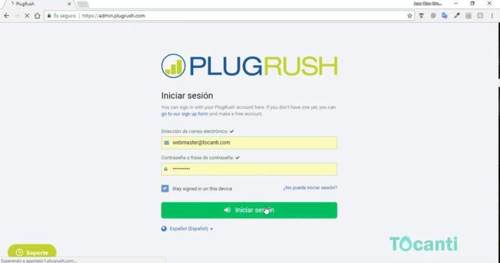 Añadir código PlugRush en Tocanti para ganar dinero