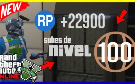"APURATE!! COMO SUBIR DE NIVEL RAPIDO SIN ESFUERZO EN ""GTA V ONLINE"" FACIL"