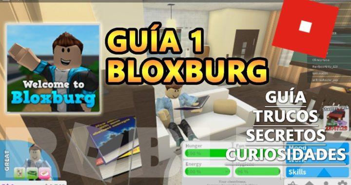 Bloxburg Guia Tutorial 1, Como Ganar Mucho Dinero y Construir una Casa Rapido - Roblox Español