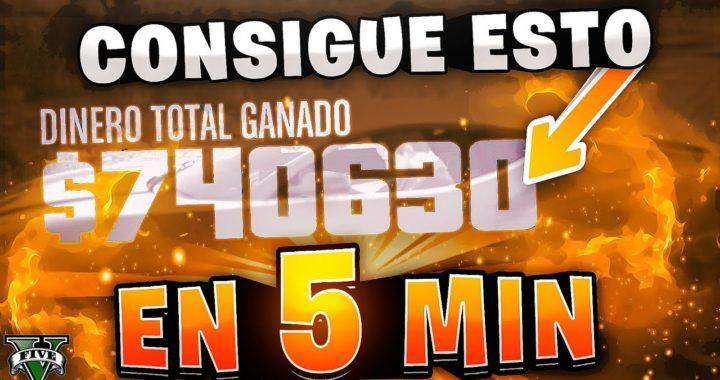 BRUTAL!! TRUCO DINERO INFINTO COMO GANAR *740.630$ EN 5 MINUTOS* SIN SER BANEADO GTA 5 ONLINE 1.42