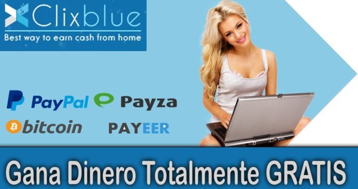 ClixBlue | Gana Dinero Gratis Por Ver Anuncios De Publicidad