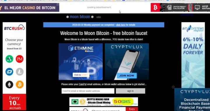 Clixcoin gana dinero en criptomonedas gratis solo mirando publicidad