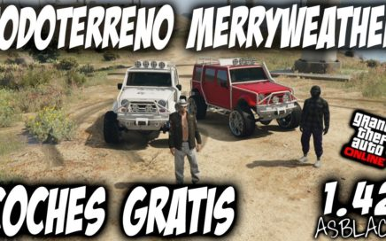 COCHES GRATIS MUY FACIL - GTA 5 - TODOTERRENO MERRYWEATHER GRATIS - TUNEAR y GUARDAR - (PS4 - XB1)