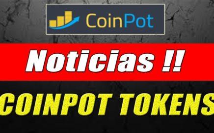 CoinPot Noticias, Agregan Nueva Criptomoneda (CoinPot Tokens) | Gokustian
