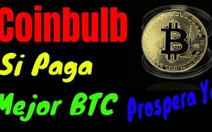 Como Cobrar en Coinbulb  | Coinbulb Paga, Como Ganar Bitcoins Gratis por ver Anuncios | Prospera Ya