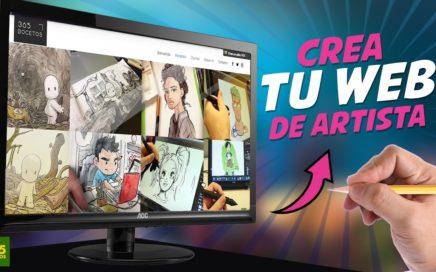 COMO CREAR UNA PÁGINA WEB DE ARTISTA Y GANAR DINERO CON TUS DIBUJOS