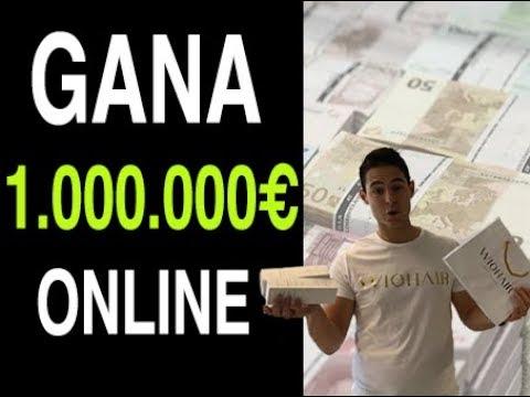 Cómo Ganar 1.000.000€ Online - MI MEJOR SECRETO