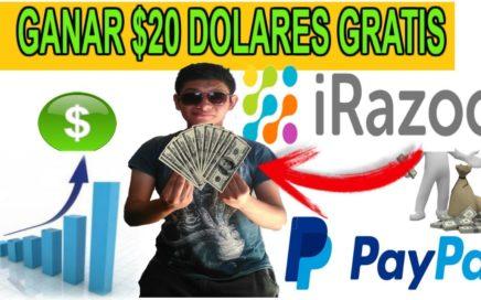 como ganar $20 Dolares para Paypal rapido / Dinero gratis/ trabajando por internet 2018