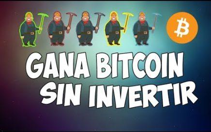 CÓMO GANAR BITCOIN RÁPIDO SIN INVERTIR DINERO (MARZO 2018)| BitcoMine