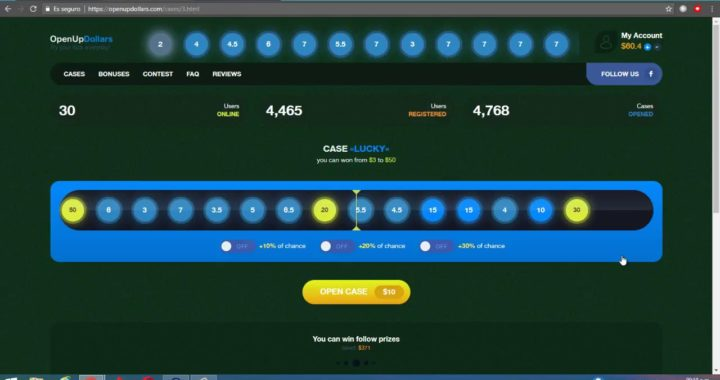 Cómo ganar Casi $100 en 5 minutos en OpenUpDollars com + Prueba de Pago por Paypal   GhostHacker503