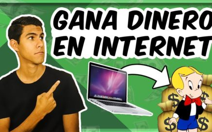 COMO GANAR DINERO EN INTERNET DESDE CASA en 2018 [*fácil*]