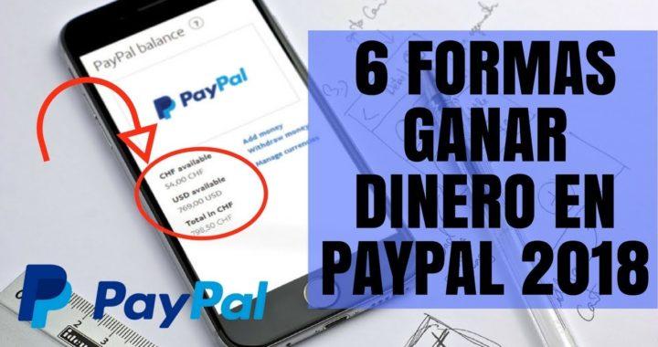 Como Ganar Dinero en Paypal 2018 con 6 Páginas en Internet