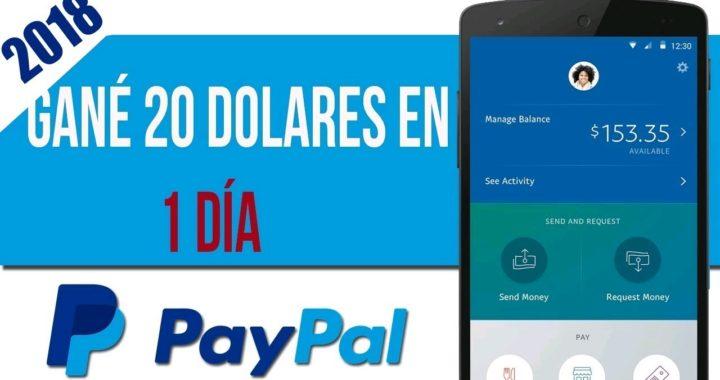 Cómo ganar dinero en PayPal 2018 gana dinero Rapido y fácil