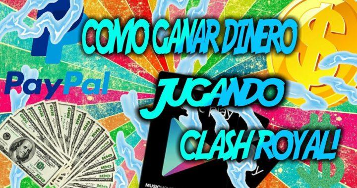 COMO GANAR DINERO JUGANDO CLASH ROYAL!!!!!!  Lalotreyes