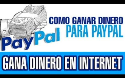 COMO GANAR DINERO PARA PAYPAL | GANAR 1000 DOLARES !!