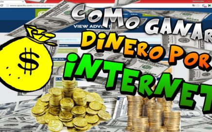 $COMO GANAR DINERO POR INTERNET RAPIDO FACIL Y EN LA COMODIDAD DE TU CASA$