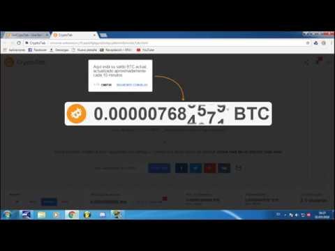 Como ganar dinero por medio de BitCoin  Facil Y Rápido  CryptoTab