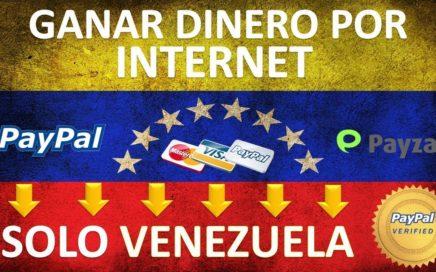 Como GANAR Dinero Por Paypal Desde Casa - VENEZUELA Y TODO EL MUNDO
