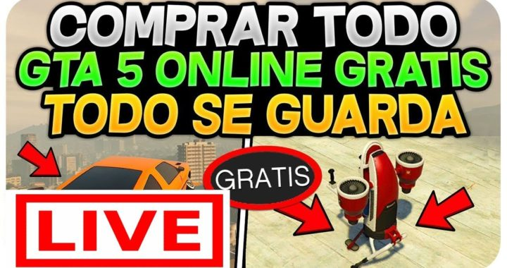 COMO GANAR DINERO RAPIDO EN GTA V ONLINE ? - GTA 5 ONLINE GRATIS!