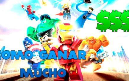 Como hacer mucho dinero en LEGO Marvel Super Heroes | XBOX ONE