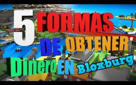 Como obtener dinero facil en bloxburg - 5 formas para obtener dinero con nicksdaga(Roblox español)