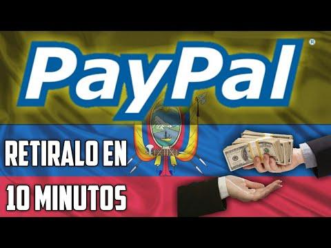 ¿CÓMO RETIRAR EL DINERO DE PAYPAL EN ECUADOR? || COMISIÓN MÍNIMA 100% SEGURO