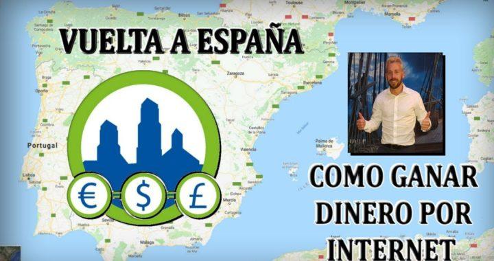 Conoce EN VIVO Como Ganar Dinero por Internet | Vuelta España Derrota la Crisis con Sergio Salvador