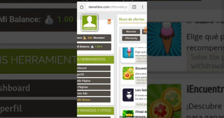 DameFans Ganar Dinero Online