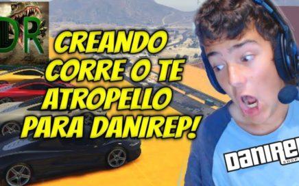 DANIREP - CREANDO UN PARKOUR IMPOSIBLE TROLL A DANIREP- GTA V EN DIRECTO