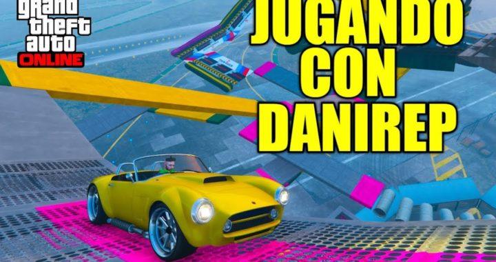 DANIREP / JUGANDO CON DANIREP CARRERA (GTA V ONLINE) CARKOUR