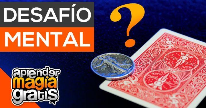 Desafio carta y moneda   Como ganar dinero   Aprender Magia Gratis