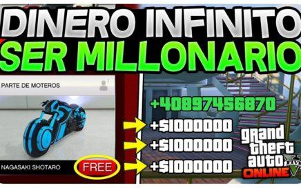DESPUÉS DE ESTE TRUCO SERAS MILLONARIO!!! GTA 5 ONLINE! 1.42/1.43 TRUCO DINERO INFINITO