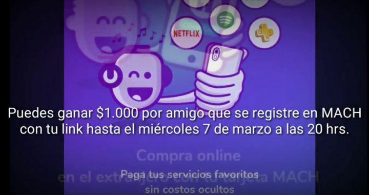 DINERO GRATIS  Gana dinero facil con MACH  Plata Gratis Chileyoutube com