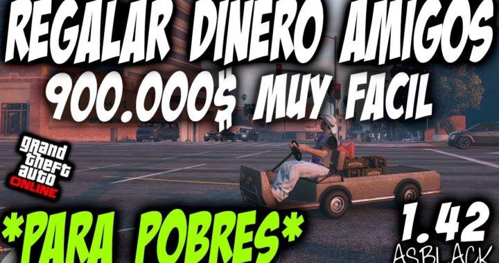 DINERO PARA GENTE POBRE - GTA 5 - SIN AVENGER, SIN INSTALACIONES, etc - 900.000$ - (PS4 - XBOX One)