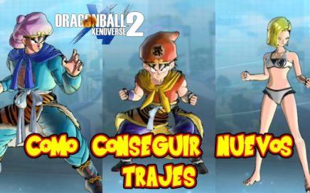 DRAGON BALL XENOVERSE 2 : COMO CONSEGUIR NUEVOS TRAJES DE GOKU GOHAN BIKINI Y PELO DE BLACK GOKU