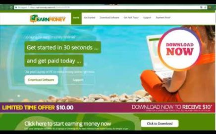 Earn Money Network   Completa | Gana Dinero en Piloto Automático y 10$ Gratis