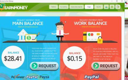 EarnMoney   dinero extra facil  50 euros