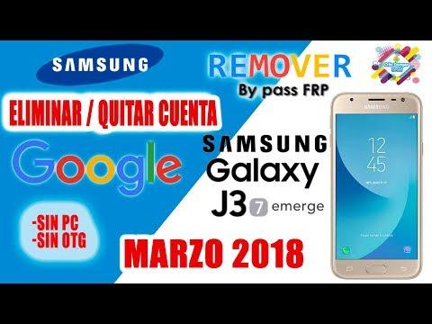 Eliminar / Quitar Cuenta Google A Cualquier Samsung Galaxy J3 Sin Pc/Otg/ Facil y Rapido 2018