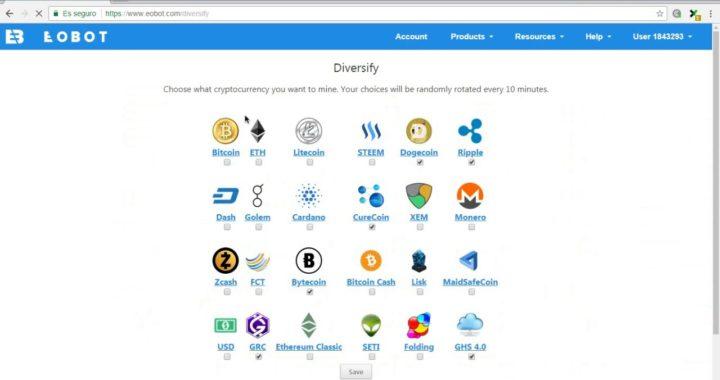 Eobot - Tasa de valores virtual conoce sobre las cryptomodas y gana dinero desde tu casa