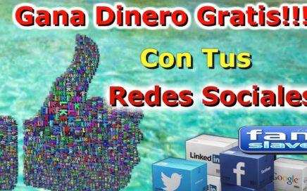 Fanslave Gana Dinero Con Tus Redes Sociales GRATIS!!!| Una plataforma valida Para Todo El Mundo|